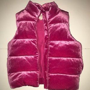 Gymboree Girls Fushia Pink Vest